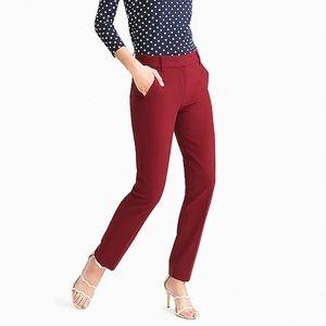 J. Crew burgundy dress pants